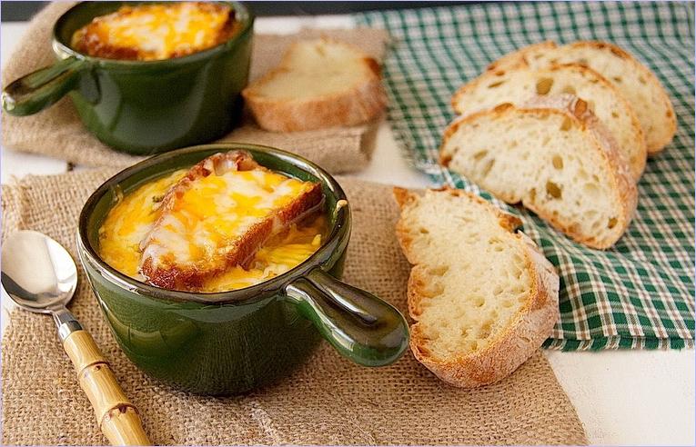 Французская диета луковый суп
