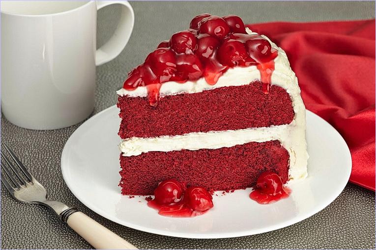 Пирожное красный бархат рецепт с фото пошагово
