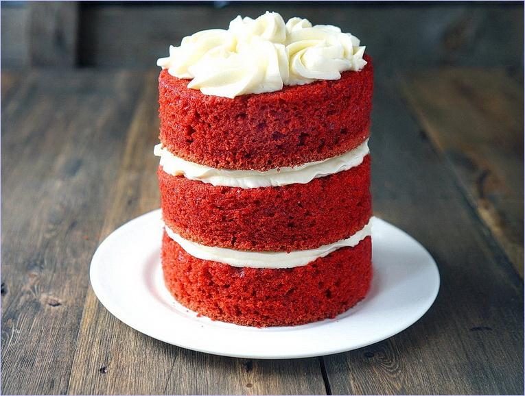Бархатный торт рецепт с фото