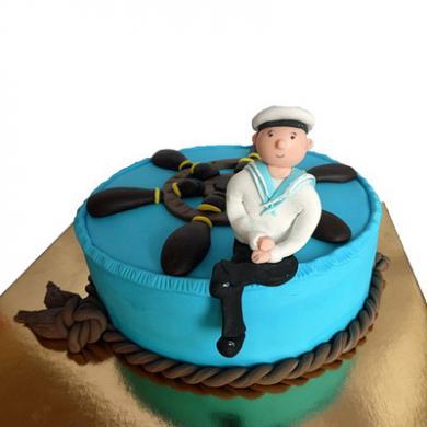 Торт моряку фото
