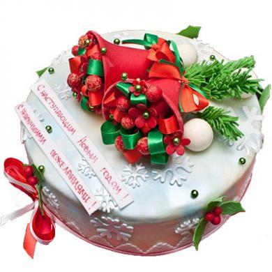 торт на новый год фото